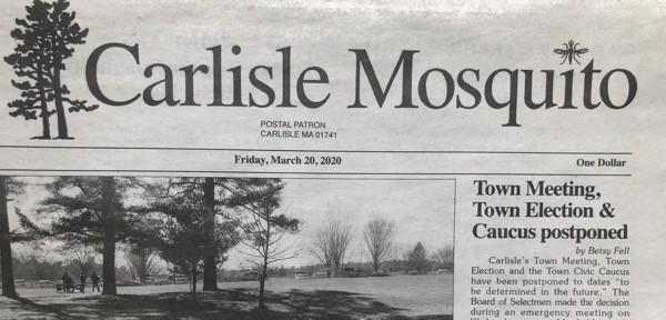 Carlisle Mosquito newspaper