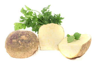 Pieces of rutabaga