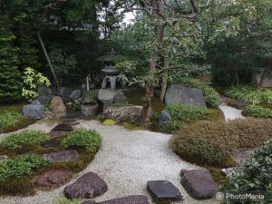 Japanese vegetable garden